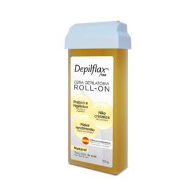 Depilação  Depilflax  Cera Roll Natural - 100g
