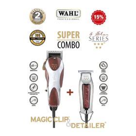 Combo Wahl Professional - Magic clip + Detailer | 220v + bivolt
