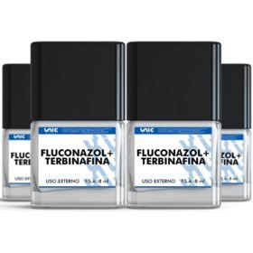 Kit 4 Fluconazol + Terbinafina esmalte  8ml - kit 4 Fluconazol + Terbinafina esmalte  8ml