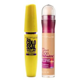 Maybelline Colossal Eraser Kit - Máscara para Cílios + Corretivo Honey - Kit