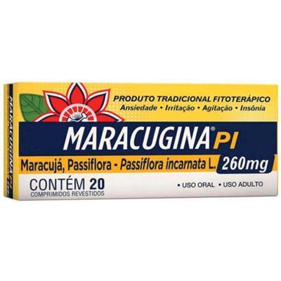 Maracugina PI - 260mg Calmante Fitoterápico | 20 comprimidos revestidos
