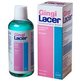 Enxaguatório Bucal Gingi Lacer - Sem Álcool   500ml
