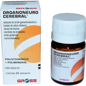Organoneuro Cerebral - 25 drágeas