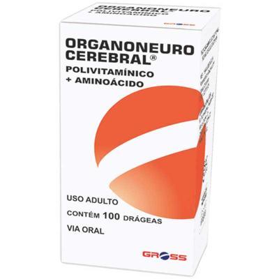 Organoneuro Cerebral - frasco com 100 comprimidos