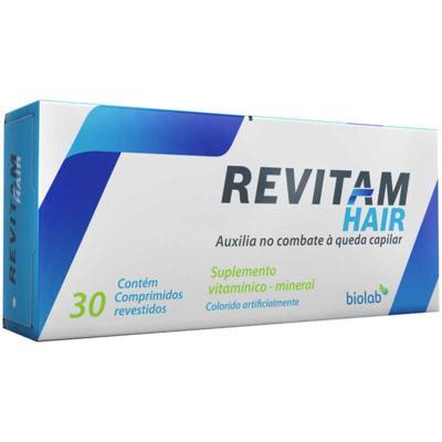 Suplemento Revitam Hair Biolab - 30 comprimidos