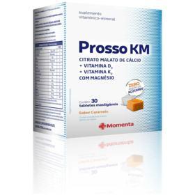 Prosso Km - Caramelo   30 tabletes mastigáveis