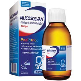 Mucosolvan Xarope Pediátrico - 15mg/5ml | 120ml