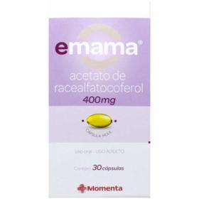 Emama - 400mg | 30 cápsulas gelatinosas
