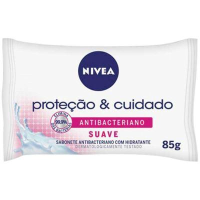 Sabonete Nivea Bath Care Antibacteriano - Suave   85g
