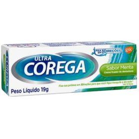 Creme Fixador de Dentadura Corega Ultra - 19g