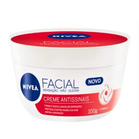 Creme Facial Nivea Antissinais - 100g