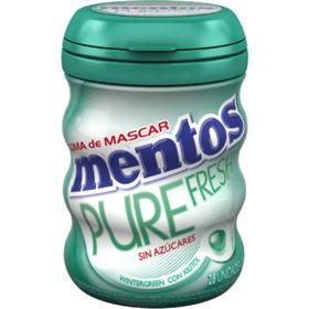 Goma De Mascar Mentos Pure Fresh - Wintergreen | 56g