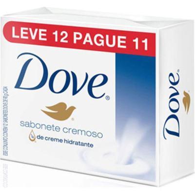 Sabonete Dove Barra - Original | 90g | Leve 12 Pague 11