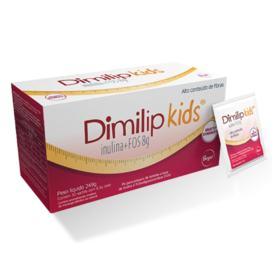 Dimilip Kids - Sabor Morango | 30 Sachês de 8,3g