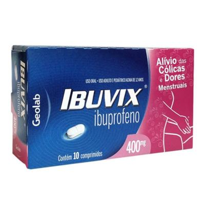 Ibuvix - 400mg | 10 comprimidos