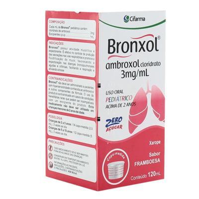 Bronxol Xarope Pediatrico - 15mg/5ml | 120ml