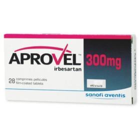 Aprovel - 300mg   28 comprimidos revestidos