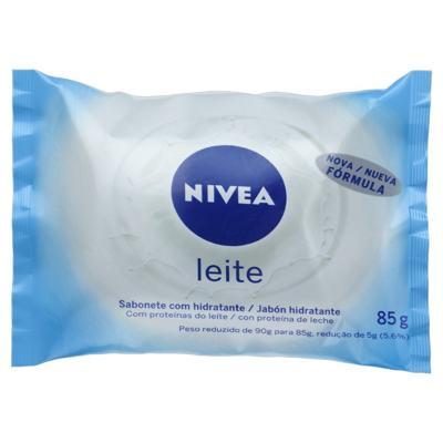 Nivea Sabonete em Barra Hidratante - Proteína do Leite | 85g