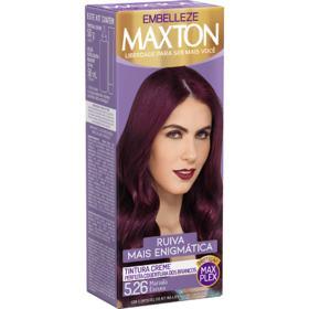 Tintura Creme Maxton - 5.26 Marsala Escuro | 1 unidade