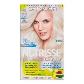 Coloração Garnier Nutrisse Creme - 12.11 Louro Claríssimo Muito Acinzentado | 1 unidade