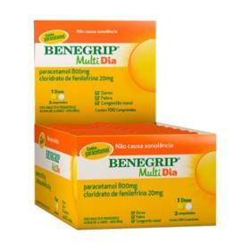 Benegrip Multi - Dia | 4 comprimidos