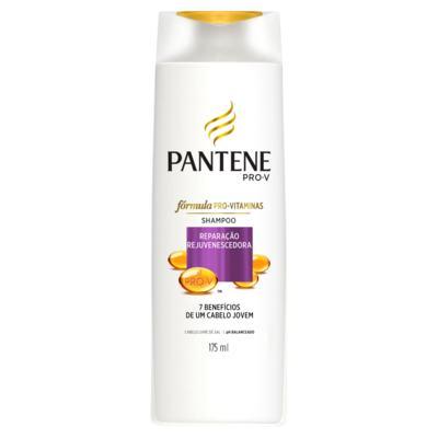 Shampoo Pantene - Reparação Rejuvenecedora 7 Benificios De Um Cabelo Jovem   175ml