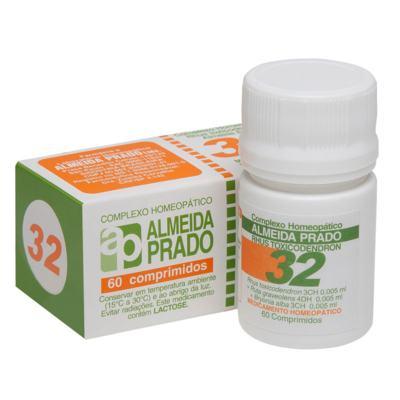 Complexo Homeopático Almeida Prado - 32 | 60 comprimidos