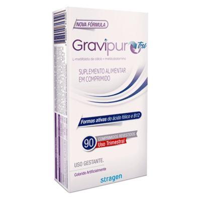 Gravipur Tri - 90 comprimidos revestidos