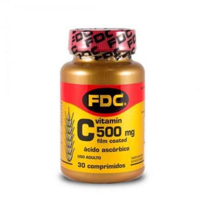 FDC Vitamin C Film Coated - 500mg | 30 comprimidos revestidos