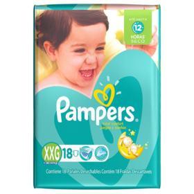 Fralda Pampers Total Confort - XXG | 18 unidades