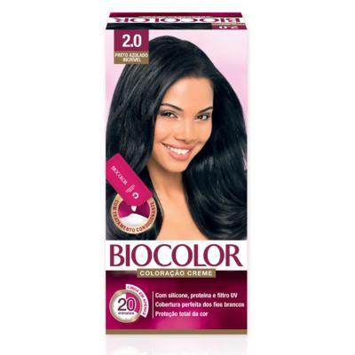 Kit Tintura Biocolor Mini - Preto Azulado Incrivel 2.0 | 50g