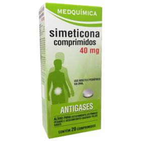 Simeticona Genérico Medquimica - 40mg   20 comprimidos