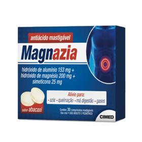 Magnazia - Abacaxi | 30 comprimidos mastigáveis