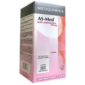 As-Med - 100mg | 10 comprimidos