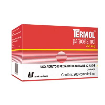 Termol - 750mg   4 comprimidos