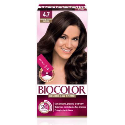 Tinta de Cabelo Biocolor - Marrom Escuro da Moda 4.7 | 1 unidade