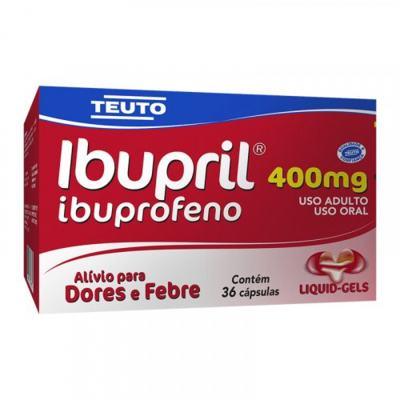 Ibupril - 400mg | 36 cápsulas gel