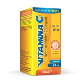Vitamina C Gotas Laranja - 200mg/ml | 20ml