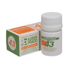 Complexo Homeopático Almeida Prado - 43 | 60 comprimidos