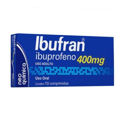 Ibufran - 400mg | 10 drágeas