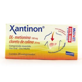 Xantinon - 20 comprimidos
