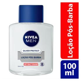 Loção Pós-Barba Nivea For Men Silver Protector 100ml
