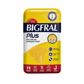 Fralda Geriátrica Bigfral Plus - Juvenil | 11 unidades