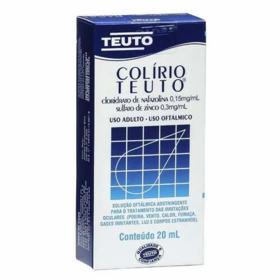 Colírio Teuto - 20ml