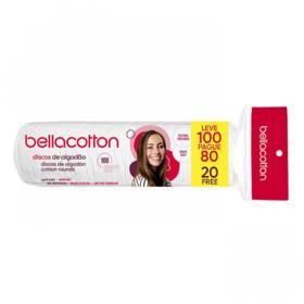 Algodão Em Discos Bellacotton - 100 unidades | Leve 100 Pague 80