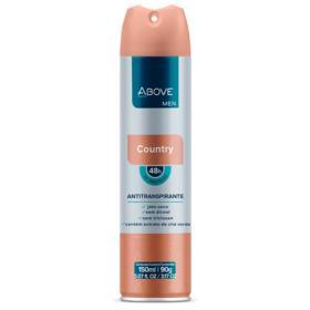Desodorante Antitranspirante Above Aerosol Masculino - Country   150ml