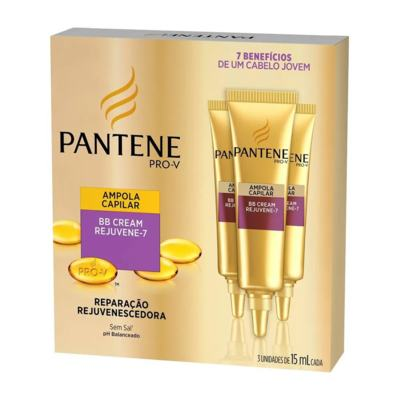 Ampola De Tratamento Pantene Bb Cream - Rejuvene-7   15ml