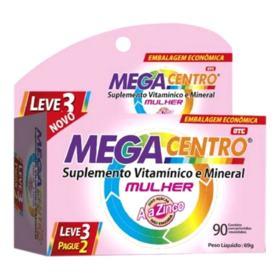 Megacentro Mulher - 90 comprimidos revestidos | Leve 3 Pague 2