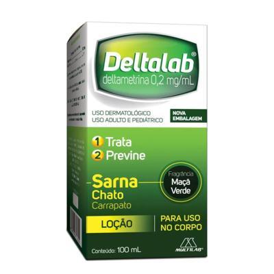 Deltalab Loção - 100ml