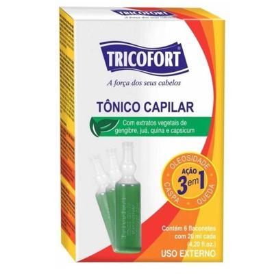 Tônico Capilar Tricofort Ação 3 em 1 6 x - 20ml